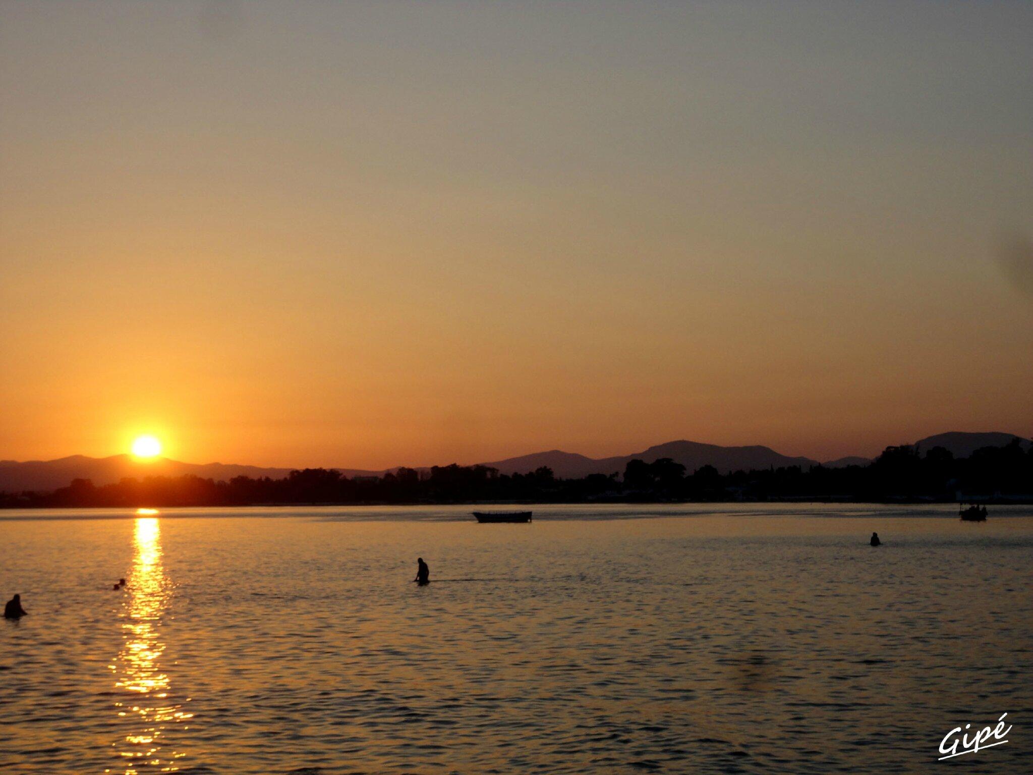 Coucher de soleil du lundi 15 juillet 2013
