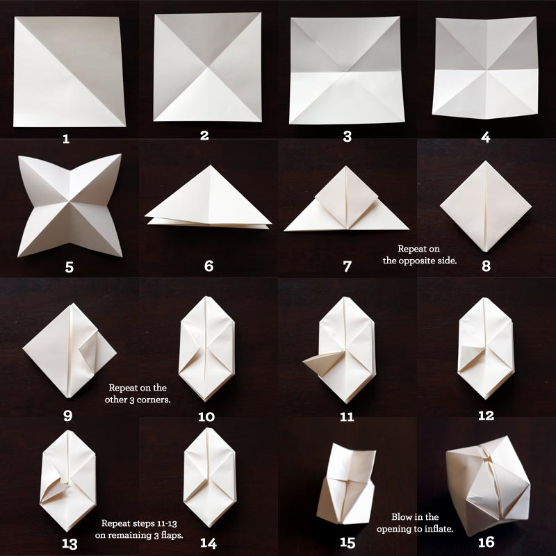 guirlande origami les fantaisies de valerie. Black Bedroom Furniture Sets. Home Design Ideas