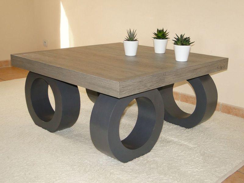 table basse meubles en carton la cr ath que de nadine. Black Bedroom Furniture Sets. Home Design Ideas