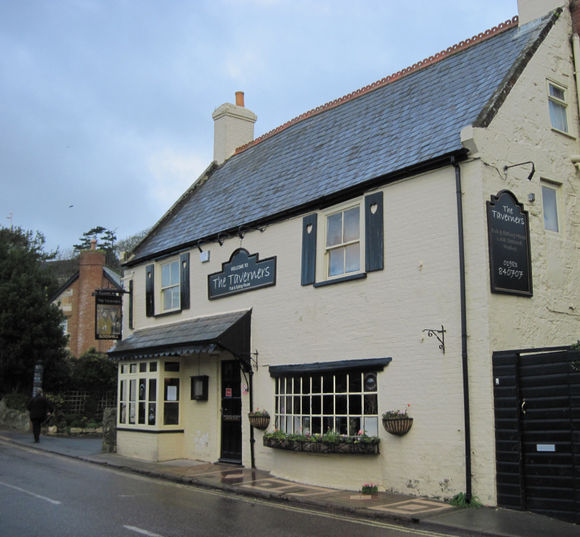 Godshill (Isle of Wight) - Une taverne