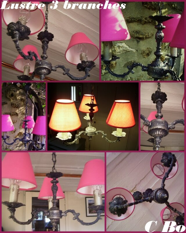 lustre 3 branches montage photo de luminaires custom 39 bricol 39. Black Bedroom Furniture Sets. Home Design Ideas