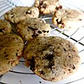 Biscuits chocolat noisettes (ou comment ma fille m'a harcelé)