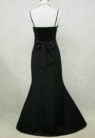 Robe valérie dos noire