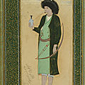 Nashmi the Archer, 1670s. Mu'in Musavvir (Iranian). Safavid period, Iran