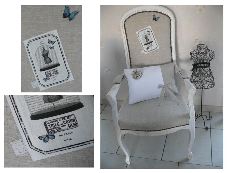 Exceptionnel Relooking fauteuil voltaire - Au pays des rêves PB82
