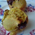 Petits muffins courge-chocolat