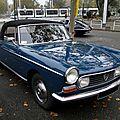 Peugeot 404 cabriolet 1966-1969