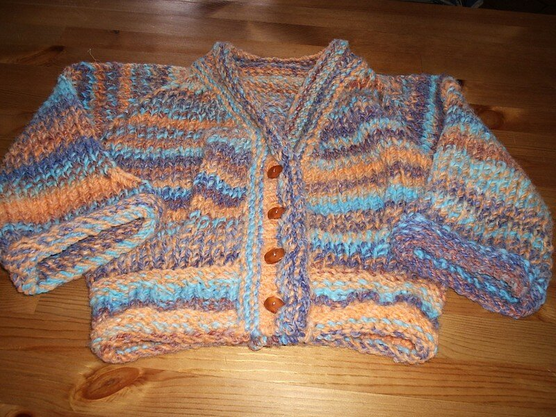 Modèle Fitted Knits, laine Igloo
