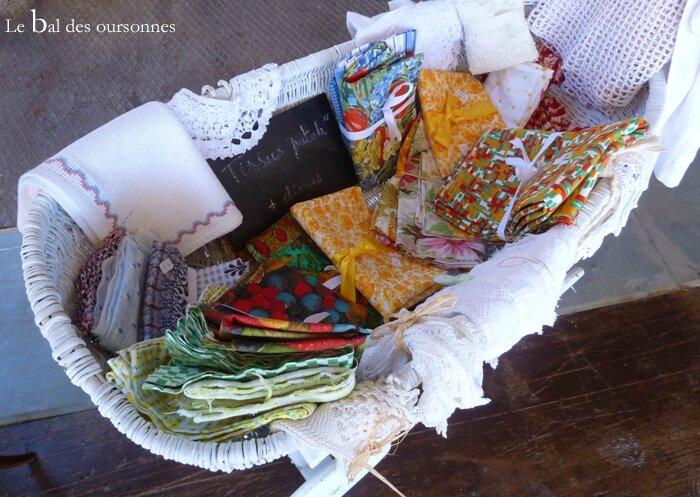 105 Blog Village des brocanteurs Tignieu Brocante Tissus Vintage
