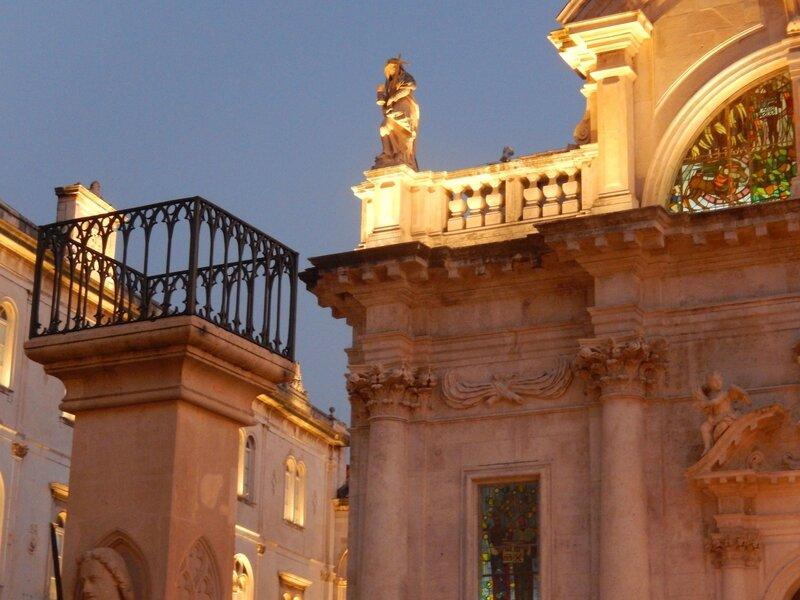 Dubrovnik, la cathédrale, détail 3 août 2013