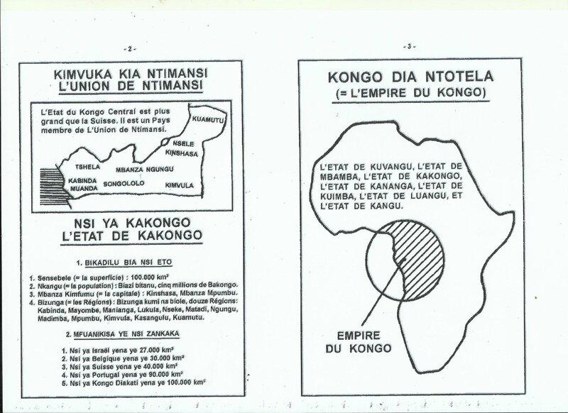 QUE RESTERA T-IL AUX BANTU DE L'AFRIQUE CENTRALE b