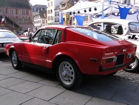SAAB Sonett III Festival Automobile de Mulhouse 2009 2