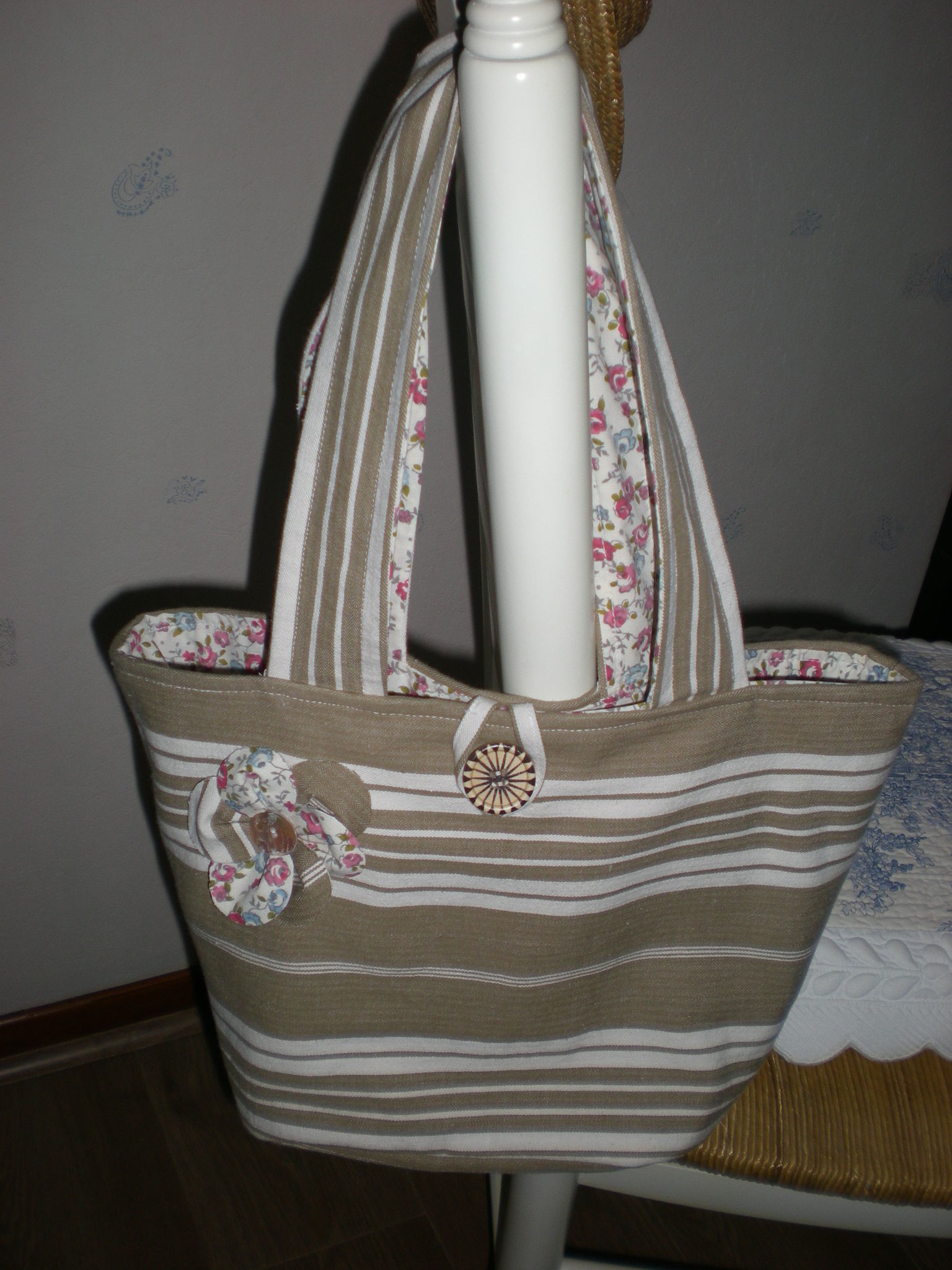 sac toile de matelas