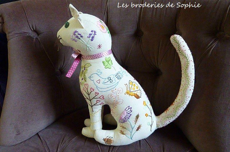 Chat brodé, chat tatoué (1)