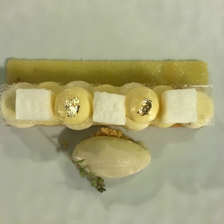 Fraîcheur de citron et sablé breton