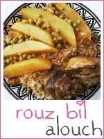 rouz bil alouch tunisien - riz au mouton tunisien - index