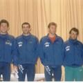 Juju, Cyril, Fred, J.Poupard et Moi.Duathlon 1998.