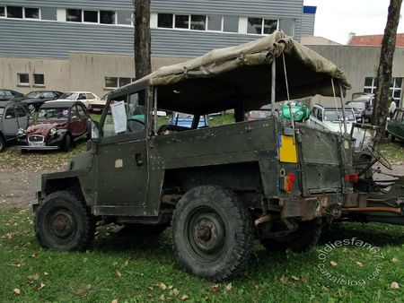 Land Rover commando lightweight 1979 bourse de crehange 2011 2