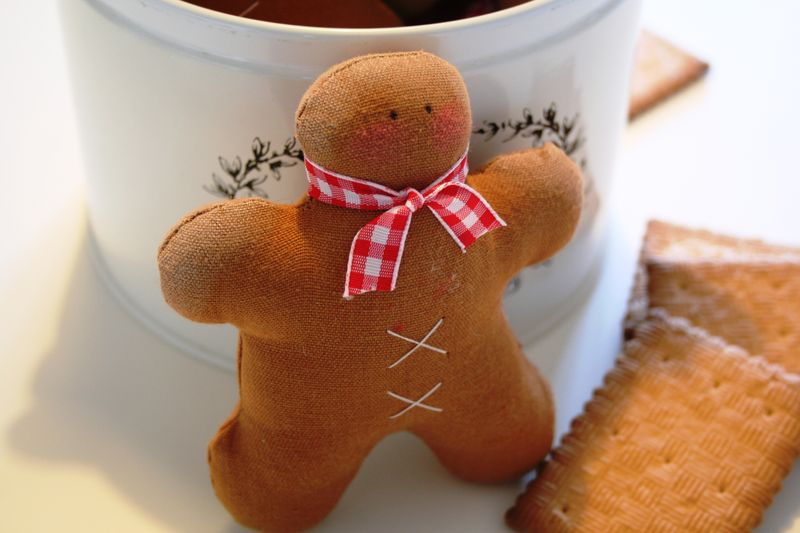 Gros plan Gingerbread men