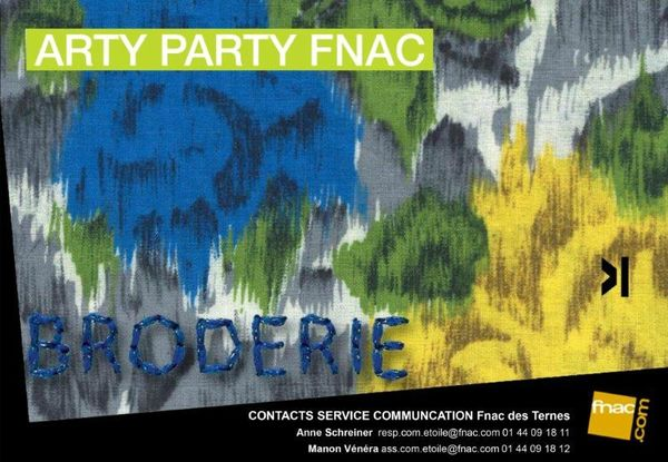 Arty Party Fnac-IDTextile