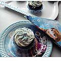 Cupcakes thème reine des neiges