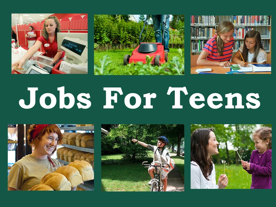 teens job Has part-time jobs and summer jobs for teens and students enter your zip code in the box and you'll be taken to a site where you can do a job search and apply online job doggy a site for teens and by teens it was started and is still operated by teens a one-stop job shop that includes help with upcoming interviews or writing a resume summerjobscom search for jobs.