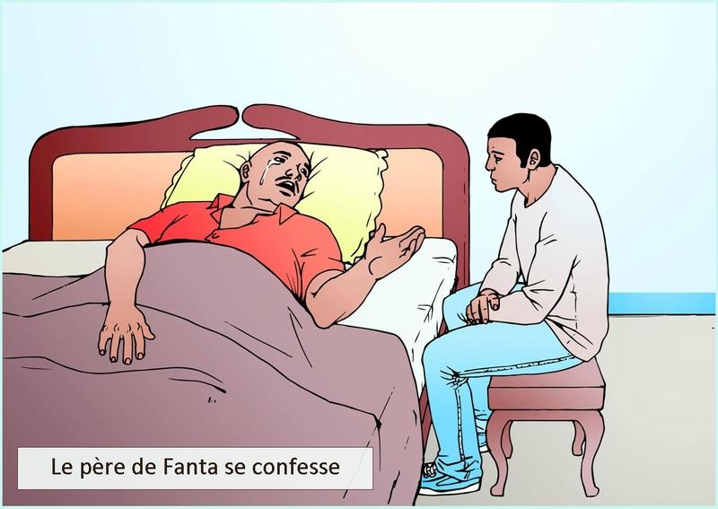 Le pere de Fanta se confesse-nouvelle littéraire-chrétienne-Délires d'Amoureux