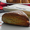 Scones à l'orange, sans gluten, et l'abc du scones