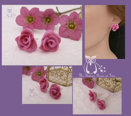 Puces Pink ROSES