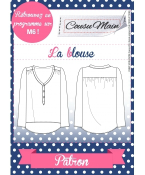 Made in Me Couture - Blouse Cousu Main