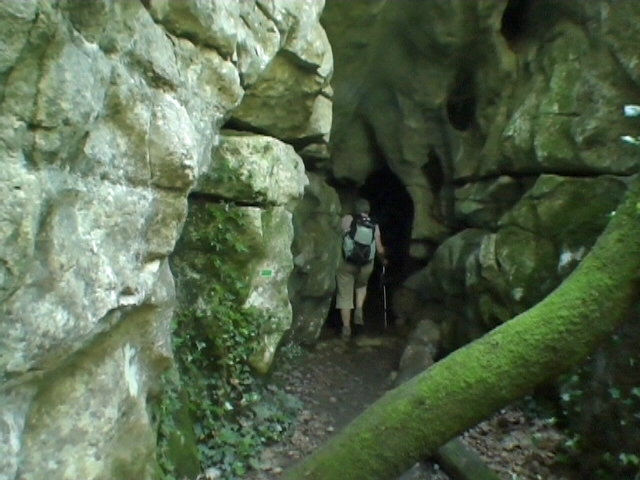 Entrée tunnel