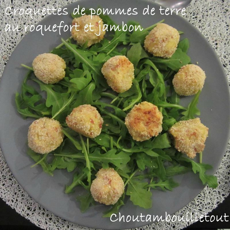 croquettes patates roquefort