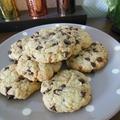 Cookies nougatines / pépites de chocolat