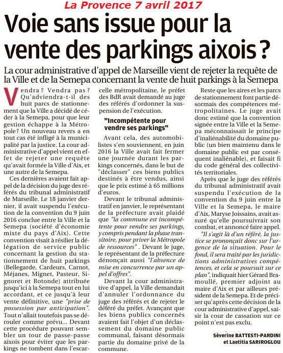 parkings prov 7