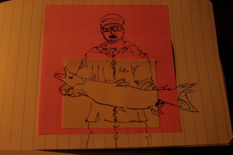 ye old fisher - drawing version