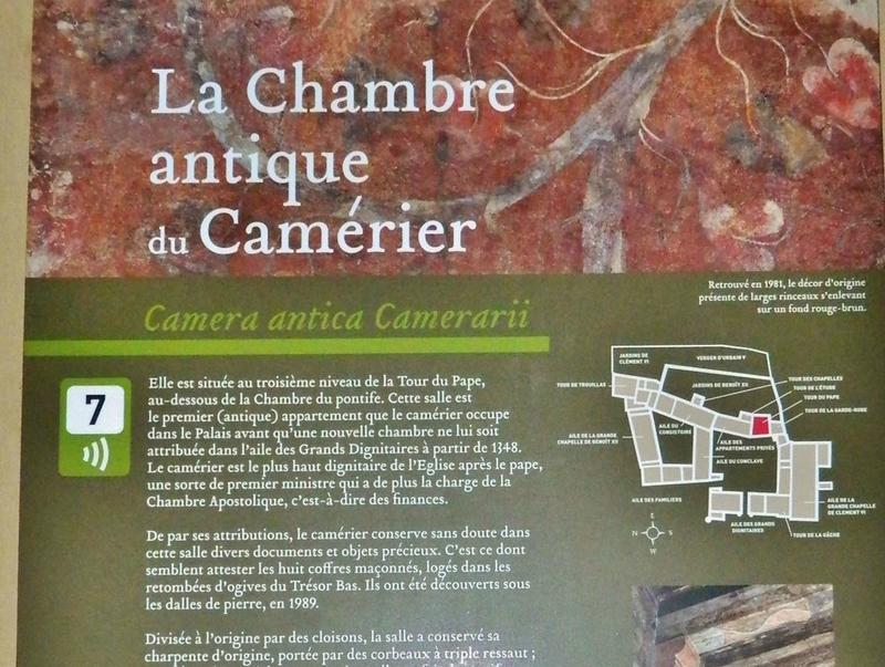AVIGNON PALAIS INTERIEUR CHAMBRE CAMERIER 808 - Copie