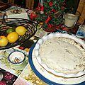 Cheesecake sur fond de gâteaux choco maison mixés