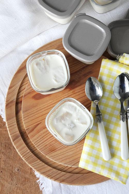 recette de yaourt onctueux ananas fruit de la passion 0001 LE MIAM MIAM BLOG
