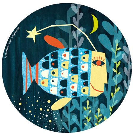 poisson étoile du soir