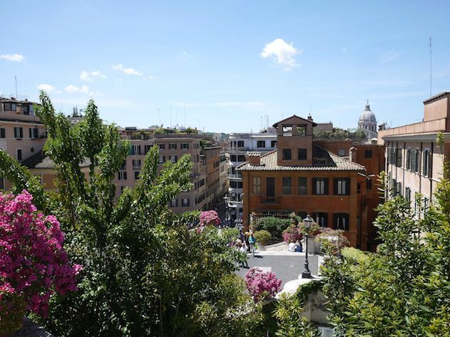 Rome piazza spagna