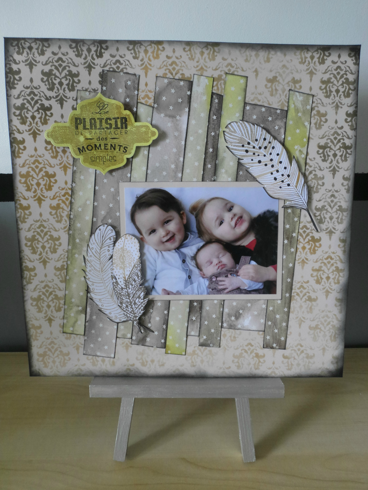 Page Magic White - 100% Scrap Plaisir