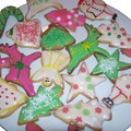 Christmas cookies ou biscuits de noel