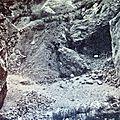site archéologique du Pas-de-l'Echelle photo fin XIXe s