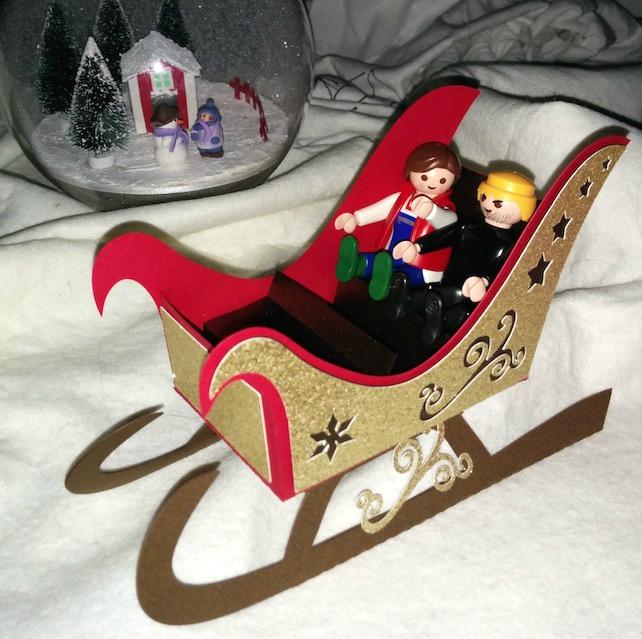 grand Traineau pere Noël