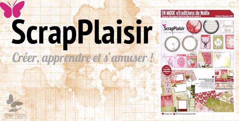 Promo SCRAP PLAISIR pour le mois d'octobre Novembre, pour préparer au mieux les fêtes avec des décos 100% fait main