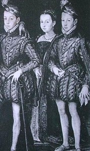 Extrait de la famille royale (vers 1564)