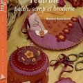 Feutrine, patch, scrap et broderie