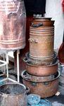 Chaudrons de cuivre Seffarine FES Maroc