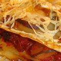 Lasagnes courgettes chevre