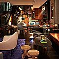 Le style original de l'hôtel qt à sydney